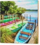 Summer Colors Wood Print