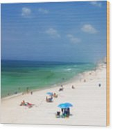 Summer Day In Florida Wood Print
