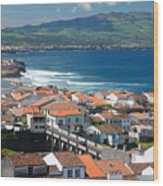 Summer Day In Sao Miguel Wood Print