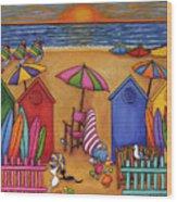 Summer Delight Wood Print