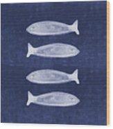 Summer Fish- Art By Linda Woods Wood Print