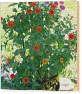 Summer Flowers 10 Wood Print