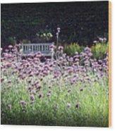 Summer Garden II Wood Print