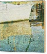 Summer Harbor Wood Print