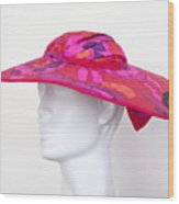 Summer Hat Wood Print
