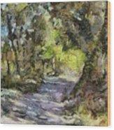 Summer Idyll Wood Print