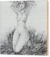 Summer II Wood Print