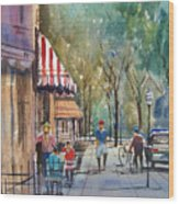 Summer In Cedarburg Wood Print