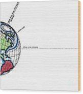 Summer In Northern Hemisphere Wood Print