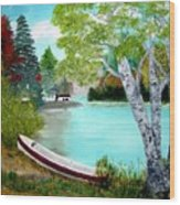 Summer In The Muskoka's Wood Print