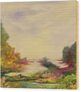 Summer Joy Wood Print by Hannibal Mane