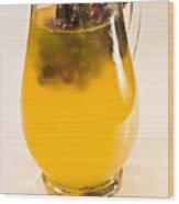 Summer Juice Wood Print