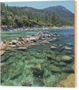 Summer Paddle Wood Print