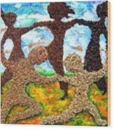 Summer Prairie Dance Wood Print
