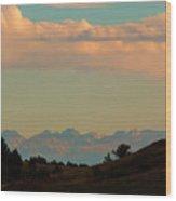 Summer Sangre De Cristo Sunrise Wood Print