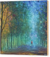 Summer Scent Wood Print