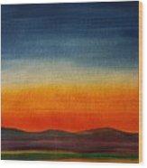 Summer Stillness In Montana   71 Wood Print