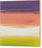 Summer Stripes Wood Print