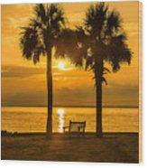 Summer Sunrise - Charleston Sc Wood Print