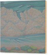 Summer Sunrise Wood Print