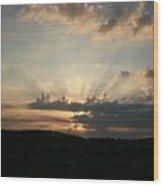 Summer Sunrise Spectacular Wood Print