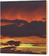 Summer Sunset 04 Wood Print