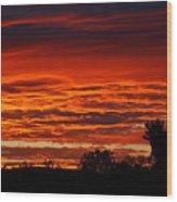Summer Sunset 2 Wood Print