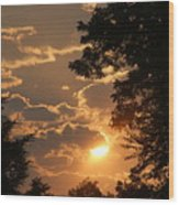 Summer Sunset 2 Wood Print