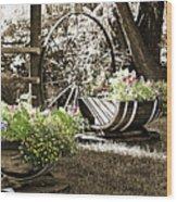 Summer Sweetness Wood Print