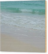 Summer Tide Wood Print
