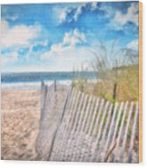 Summer Time Wood Print
