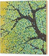 Summer Tree Wood Print