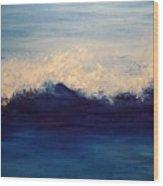 Summer Wave Wood Print