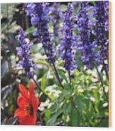Summerflowers Wood Print