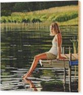 Summers Beauty Wood Print