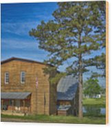 Summersville Mill Ozark National Scenic Riverways Dsc02626 Wood Print