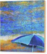 Summertime-iii Wood Print