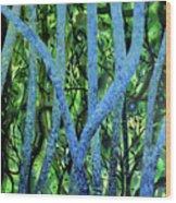 Summertree Fantasia Wood Print