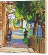 Summerville Sc Wood Print