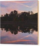 Summit Lake Sunset I  Wood Print