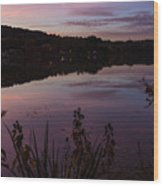 Summit Lake Sunset II  Wood Print