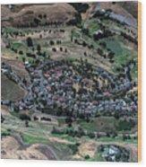 Summitpointe Golf Club Golf Course Aerial Wood Print