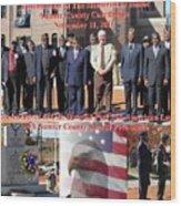 Sumter County Memorial Of Honor Wood Print
