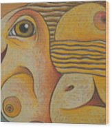 Sun  2001 Wood Print