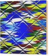 Sun Beach And Glass Catus 1 No. 1 H B Wood Print