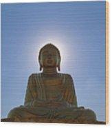 Sun Buddha Wood Print