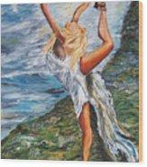Sun Dancer Nastia Wood Print