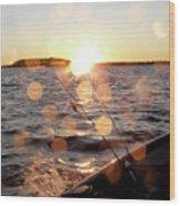 Sun Drops  Wood Print