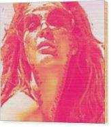 Sun Kissed Pearlesqued Wood Print