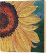 Sun Lover Wood Print